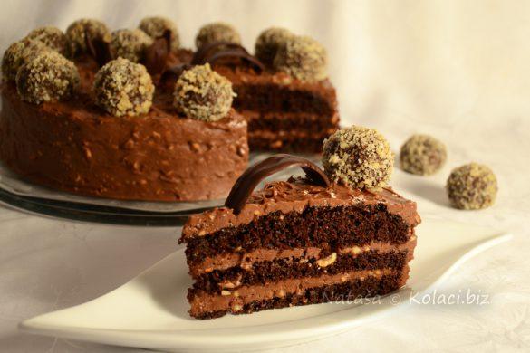 Ferrero-roche-torta